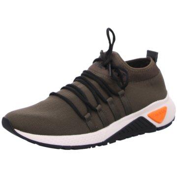 Diesel Sneaker Low oliv