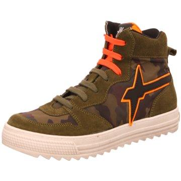 W6YZ Sneaker High grün