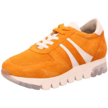 Tamaris Plateau Sneaker orange