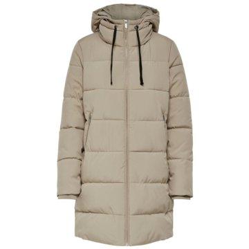 Only Winterjacken beige