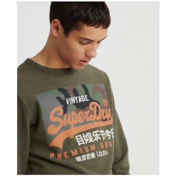 Superdry Sweatshirts grün