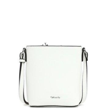 Tamaris Taschen DamenAlessia Handtasche mit RV klein weiß