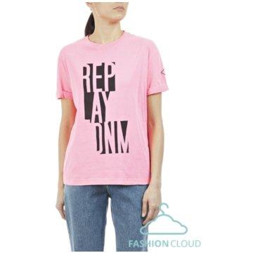 Replay T-Shirts rosa