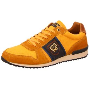 Pantofola d` Oro Sportlicher Schnürschuh gelb