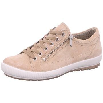 Legero Komfort SchnürschuhSneaker beige