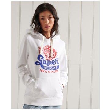 Superdry Sweatshirts weiß