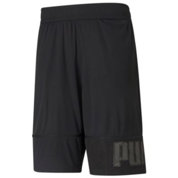 Puma ShortsTRAIN KNIT 10   SESSION SH - 520119 schwarz