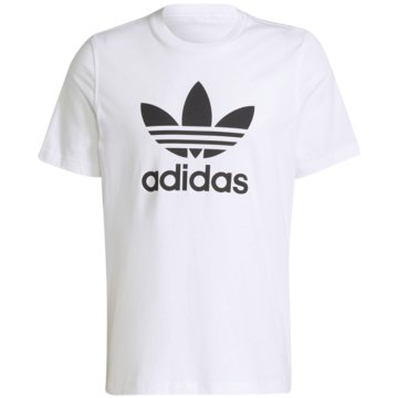 adidas T-Shirts print weiß