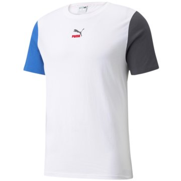 Puma T-Shirts basicCLSX TEE - 531516 weiß