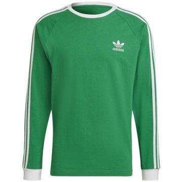 adidas Langarmshirt grün