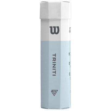 Wilson TennisbälleTRINITI TBALL 4 BALL CAN - WRT115200 gelb