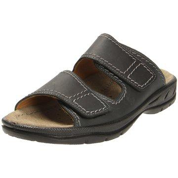 Jomos Komfort Sandale schwarz