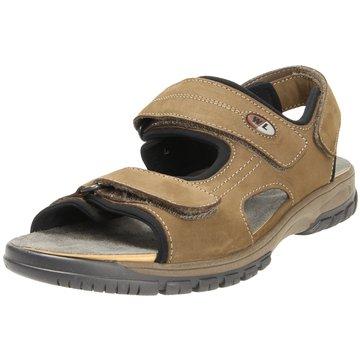 Waldläufer Komfort Schuh braun