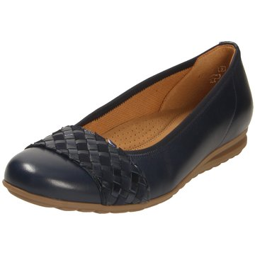Gabor comfort Klassischer BallerinaBallerina blau
