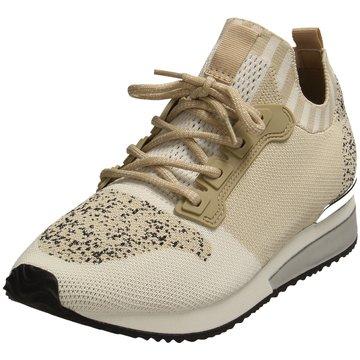 La Strada Sportlicher SchnürschuhSneaker beige