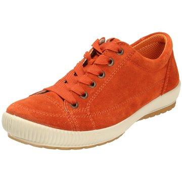 Legero Komfort SchnürschuhSneaker orange