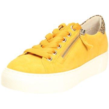 Gabor comfort Sportlicher Schnürschuh gelb