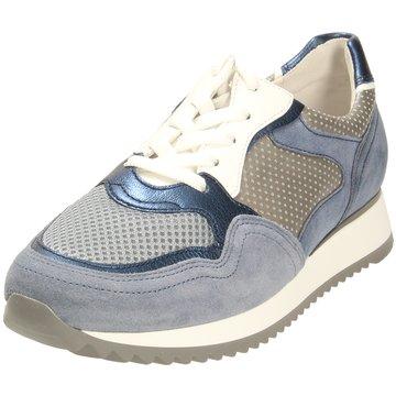 Gabor comfort Komfort Schnürschuh blau