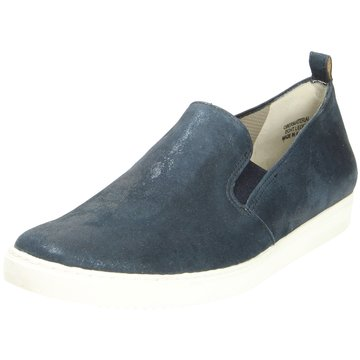 Paul Green Sportlicher Slipper blau