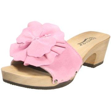 Softclox Plateau Pantolette rosa