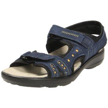 Jomos Komfort Sandale blau