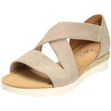 Gabor comfort Komfort Sandale beige