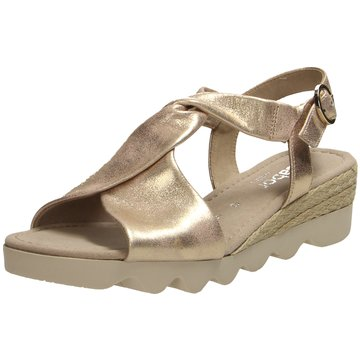 Gabor Komfort Sandale gold