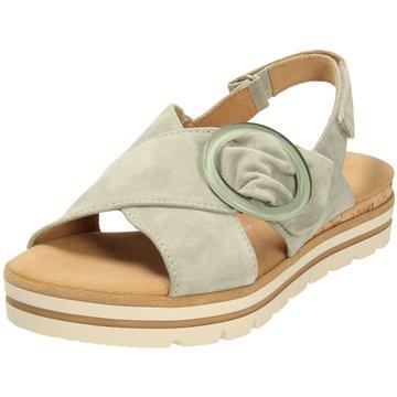 Gabor comfort Sandale grün