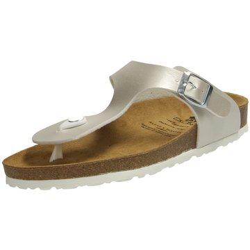 Brütting Offene Schuhe silber