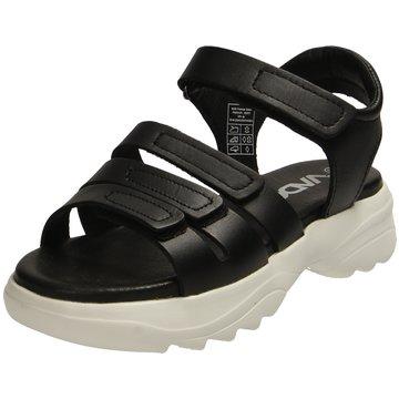 Vado Komfort Sandale schwarz