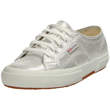 Superga Sneaker LowCotu Classic silber