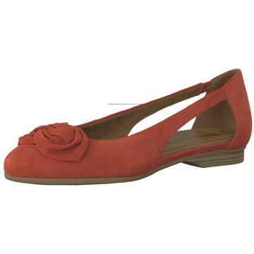 Tamaris Klassischer Ballerina rot