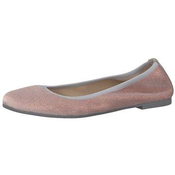 Tamaris Faltbarer Ballerina rosa
