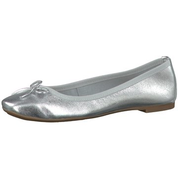 Tamaris Faltbarer Ballerina silber