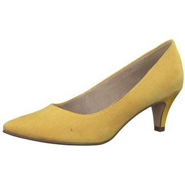 Tamaris Klassischer Pumps gelb