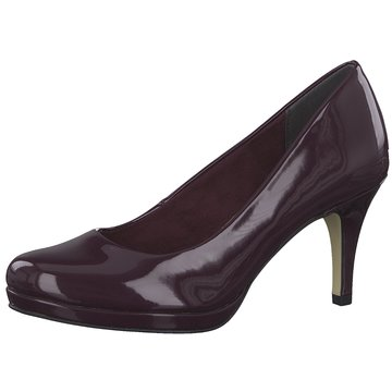 Tamaris Plateau Pumps lila