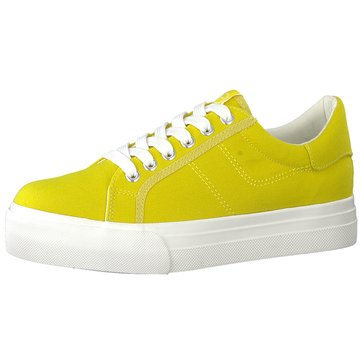 Tamaris Plateau Sneaker gelb