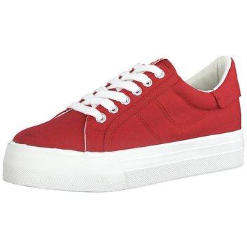 Tamaris Plateau Sneaker rot