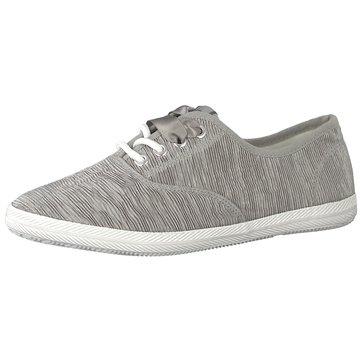 Tamaris Sportlicher Schnürschuh grau