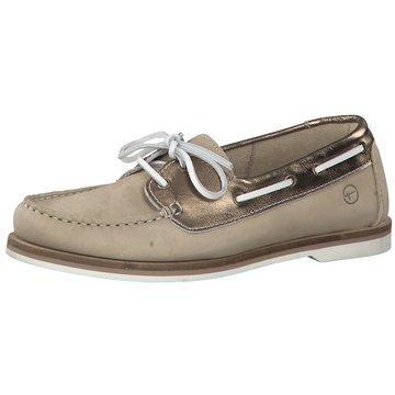 Tamaris BootsschuhSneaker beige