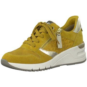 Tamaris Sneaker Wedges gelb