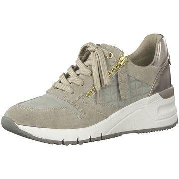 Tamaris Sneaker Wedges beige