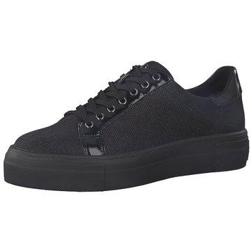 Tamaris Plateau Sneaker schwarz