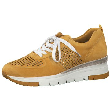 Tamaris Sportlicher SchnürschuhSneaker gelb