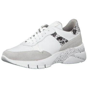 Tamaris Damen Plateau Sneakers Blau: : Schuhe