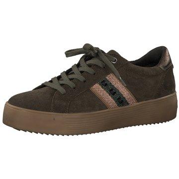 Tamaris Plateau Sneaker oliv