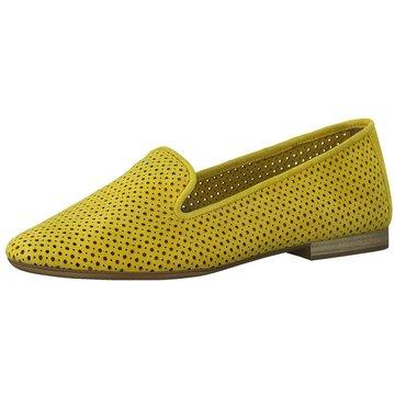 Tamaris Klassischer Slipper gelb