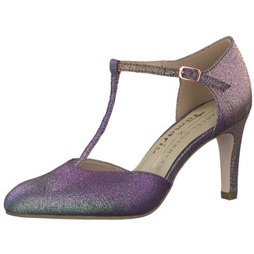 Tamaris T-Steg Pumps lila