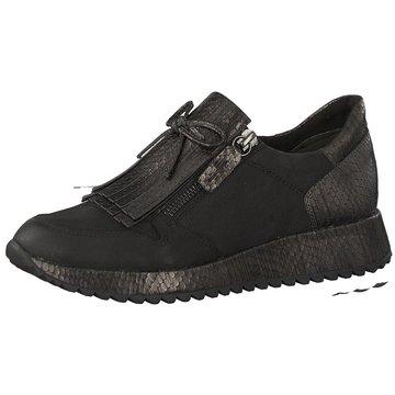 Tamaris Komfort Slipper schwarz
