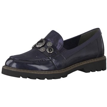 Tamaris Hochfront Slipper blau